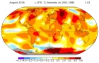 """August Ties July As Hottest Month Ever On Record"" - Climate Central"