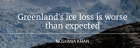 """Greenland's Ice Loss Is Worse Than Expected"" - Quartz"